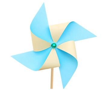 Vetrnica iz papirja