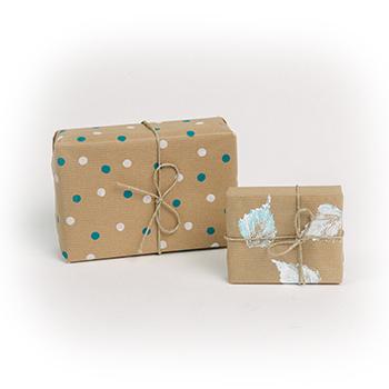 Potiskaj si svoj darilni papir