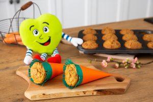 Izdelaj korenčkove kolačke po receptu Zdravka Lidla.