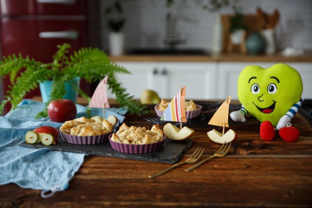 Hitre jabolčne pite